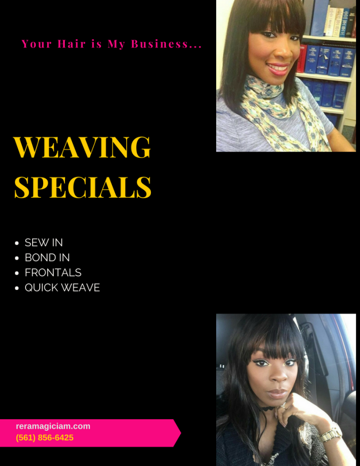 Bond-In Starting at $70 Sew-In Starting at $130